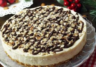Fehér csokoládés sajttorta