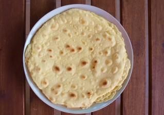 Tortilla tészta