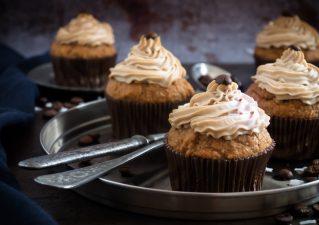 Kávés cupcake