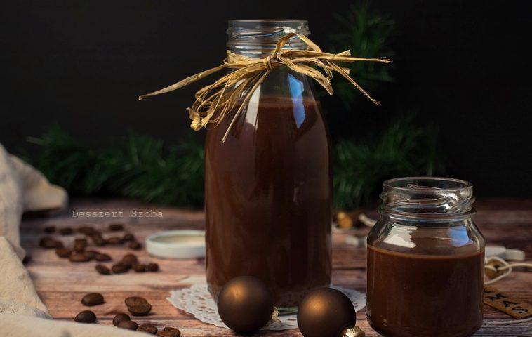 Kávés csokoládé krémlikőr