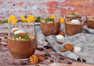 Kávés csokoládémousse