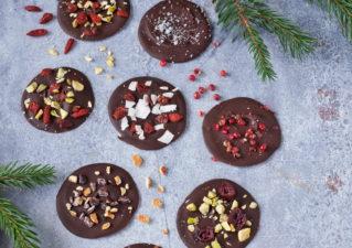 Fűszeres-magvas csokoládétallér