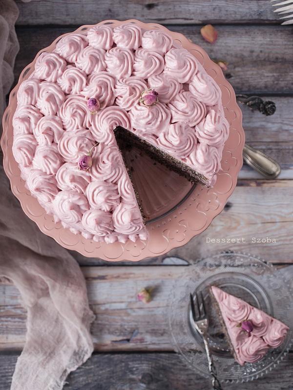 Epres-mákos torta