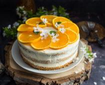 Narancskrémes torta