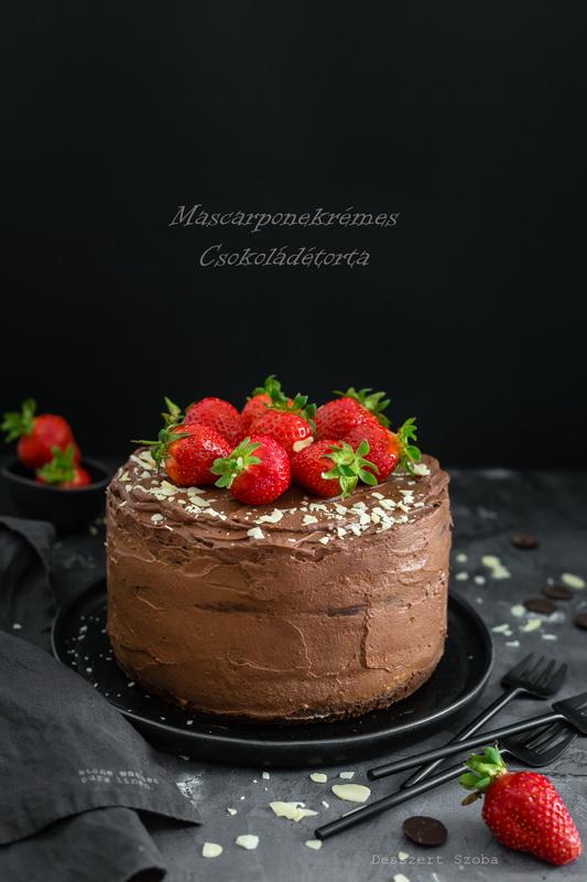 Mascarponekrémes csokoládétorta cukor- és gluténmentesen